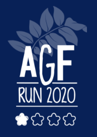 AGF Run 2020 logo